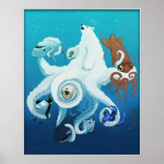 Octo-bear Royalle Poster