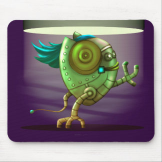 OCTO CUTE ROBOT ALIEN CARTOON MOUSE PAD