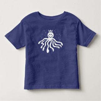Octo Majesty Toddler T-shirt (White Print)