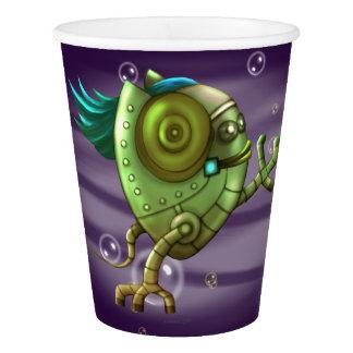 OCTO ROBOT  ALIEN PAPER CUP