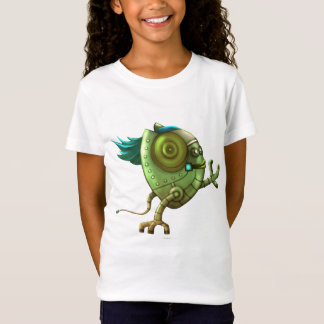 OCTO ROBOT CUTE ALIEN CARTOON Babydoll T-Shirt