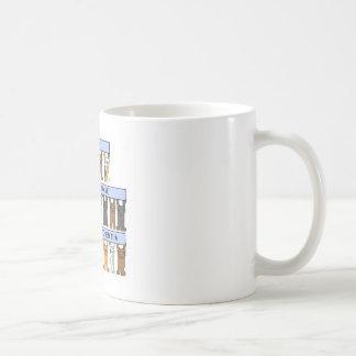 October 11th Birthdays celebrated by Cats. Coffee Mug
