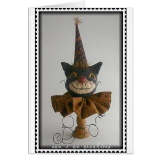 October Boo Kat Card