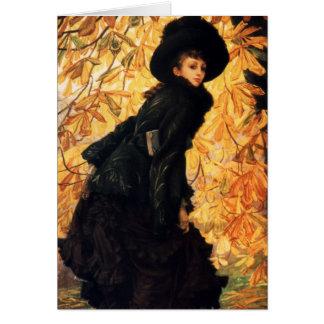 October Fine Art Card