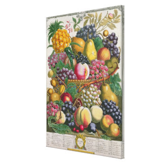 October, from 'Twelve Months of Fruits' Gallery Wrap Canvas