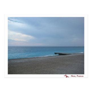 October in Nice, France Postcard