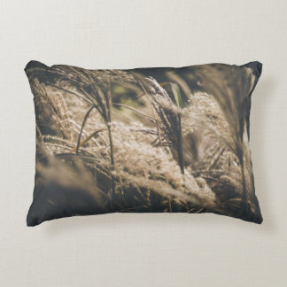 October plumes accent pillow