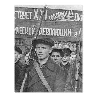October Revolution Letterhead