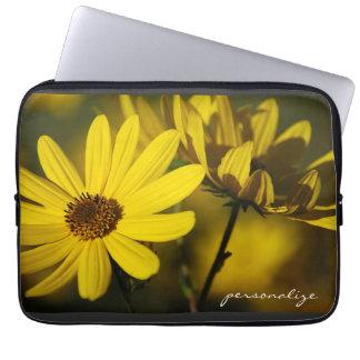 October Sunflowers Electronics Bag