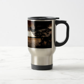 October Waterfront Travel Mug
