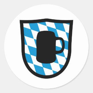 Octoberfest Bavaria Round Sticker