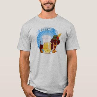 Octoberfest Dachshund Men's Basic T-Shirt
