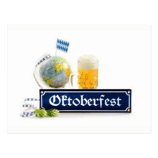 Octoberfest Postcard