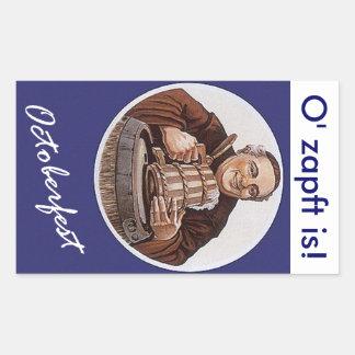 Octoberfest toast O' zapft is! it's tapped Sticker