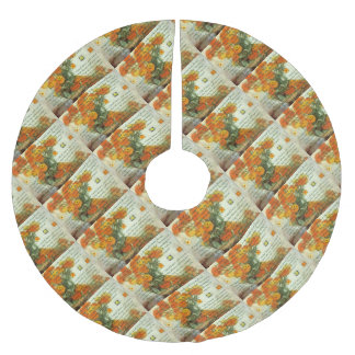 October's Child Birthday Wishes Brushed Polyester Tree Skirt