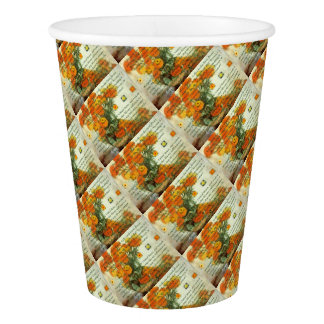 October's Child Birthday Wishes Paper Cup