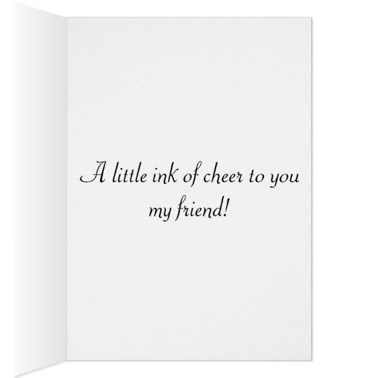 Octocolor Friendship Greeting Card