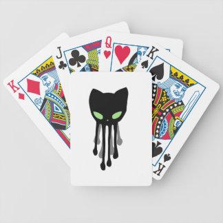 Octokitten is a nice black kitten kraken.. bicycle playing cards