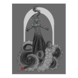 Octomer postcard