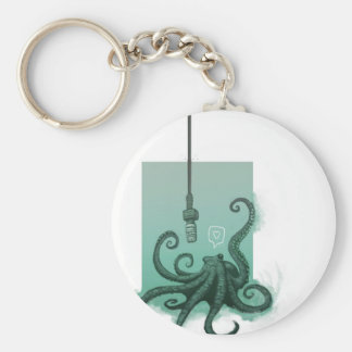 Octophone Keychain