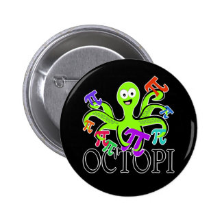 octopi 2 inch round button