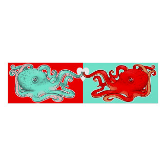 Octopi Attraction Poster