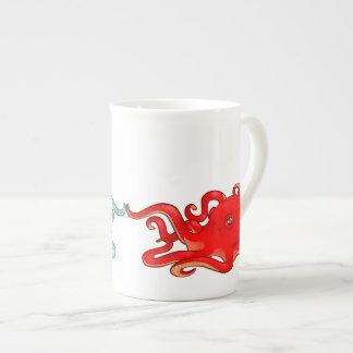 Octopi Attraction Bone China Mug