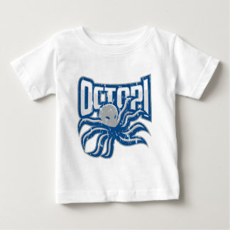 Octopi Distressed Logo T Shirts