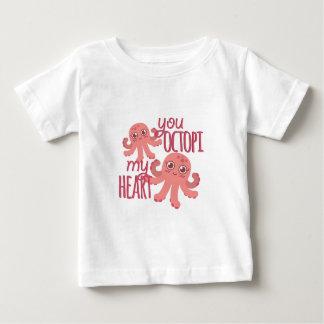 Octopi My Heart Baby T-Shirt