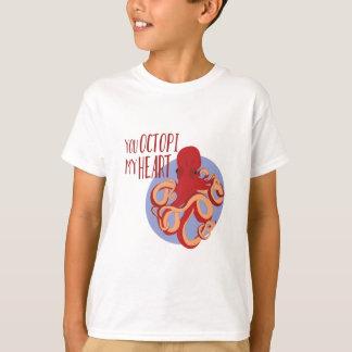 Octopi My Heart Tees