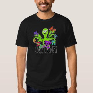 Octopi Pi Day T-shirt
