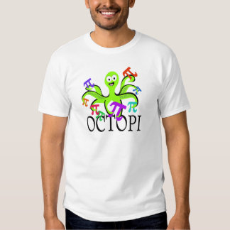 Octopi Pi Day T-shirts