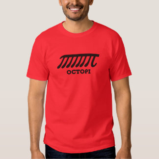 Octopi (pi) t-shirts