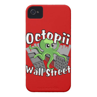 Octopii Wall Street - Occupy Wall St! Case-Mate iPhone 4 Case