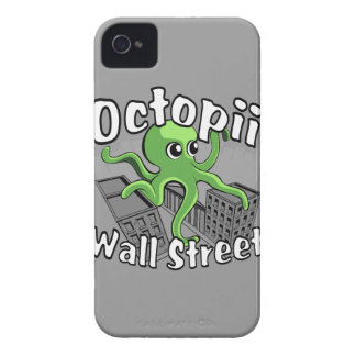 Octopii Wall Street - Occupy Wall St! iPhone 4 Case