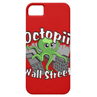 Octopii Wall Street - Occupy Wall St! iPhone 5 Case