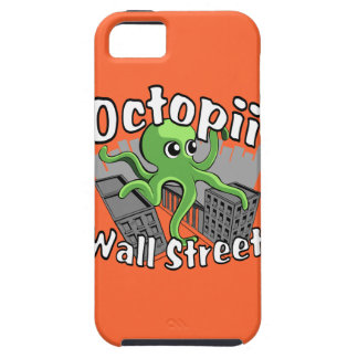 Octopii Wall Street - Occupy Wall St! iPhone 5 Covers