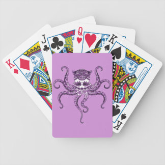 Octopus 2 bicycle playing cards