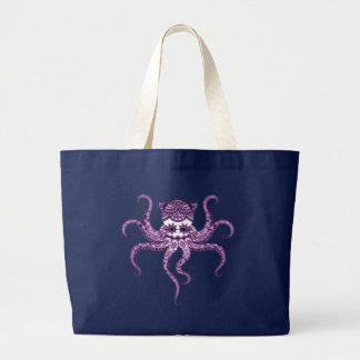 Octopus 2 large tote bag