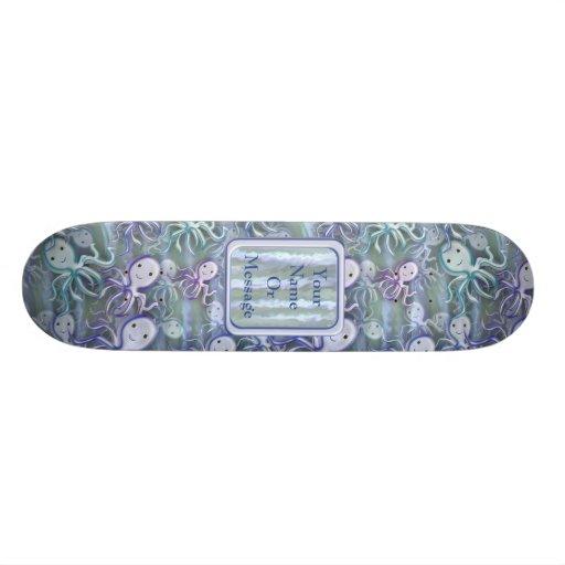 Octopus Adventure Custom Skateboard