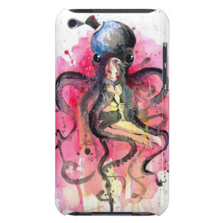 Octopus and child iPod touch cover