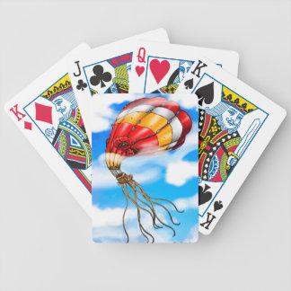 Octopus Balloon Poker Deck