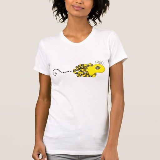 Octopus Bee Tshirts