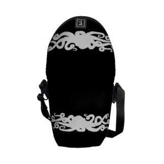 Octopus Black bag Commuter Bag