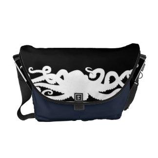 Octopus Black bag Courier Bags