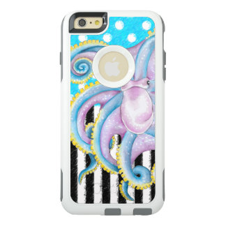Octopus Blue Pattern OtterBox iPhone 6/6s Plus Case