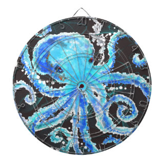 Octopus bubbles dartboard