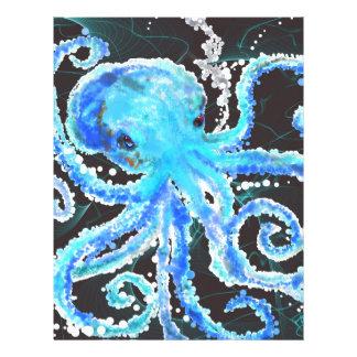 Octopus bubbles letterhead