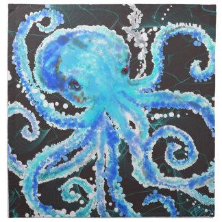 Octopus bubbles napkin