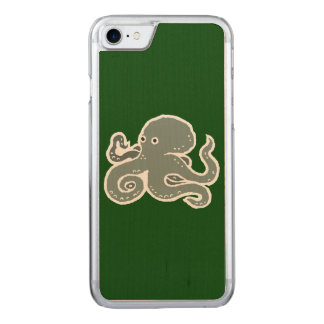 Octopus Carved iPhone 8/7 Case